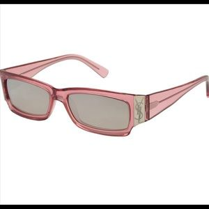 Yves Saint Laurent YSL Rose Blush Pink Sunglasses